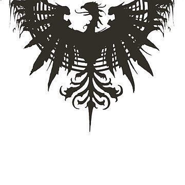 Phoenix Crest by ElementaI