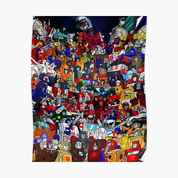 G1 Transformers Autobots Poster
