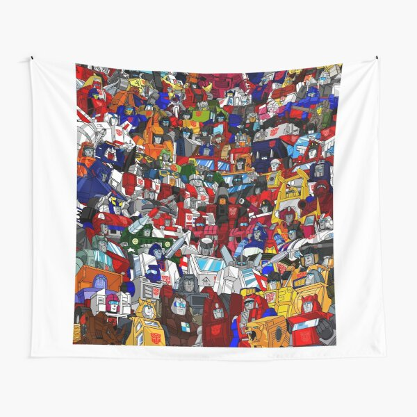 G1 Transformers Autobots Tapestry
