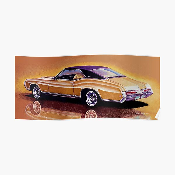 1968 Buick Riviera Poster