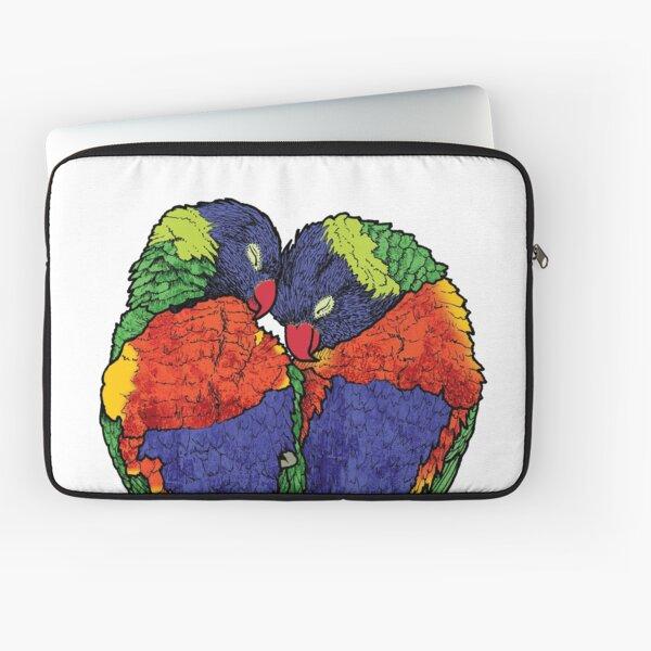 Rainbow Lorikeets Laptop Sleeve