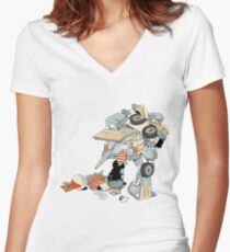 Junk In The Trunk Women's Fitted V-Neck T-Shirt