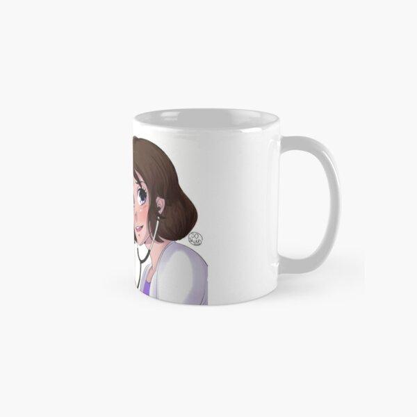 Mug médecin au top femme 3 Mug classique