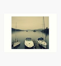 Windermere Trio Art Print