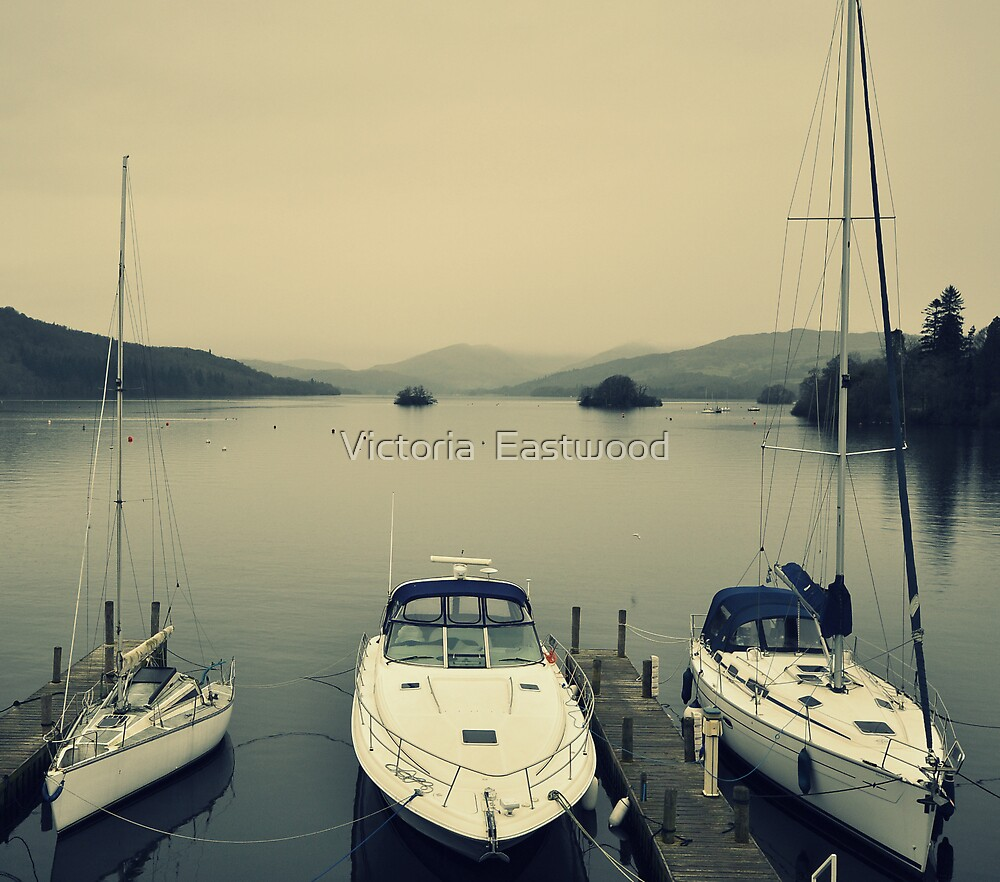 Windermere Trio by Victoria  Eastwood
