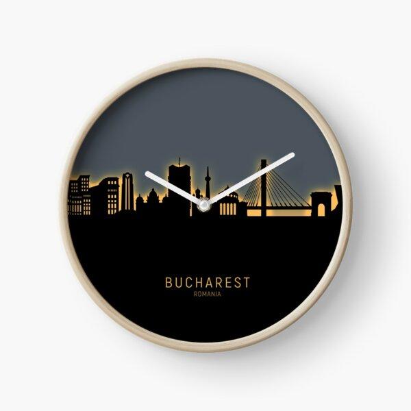 Bucharest Romania Skyline Uhr