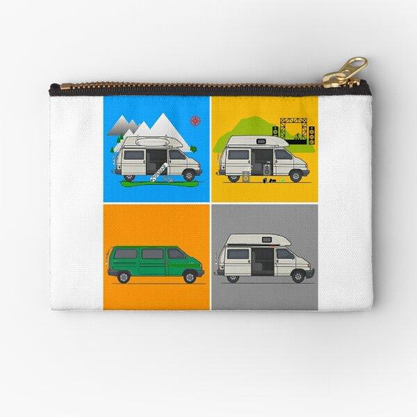 Campervans - Art Zipper Pouch
