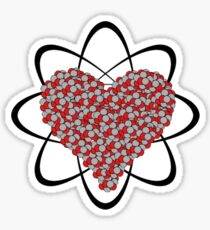 Heart Isotope Sticker