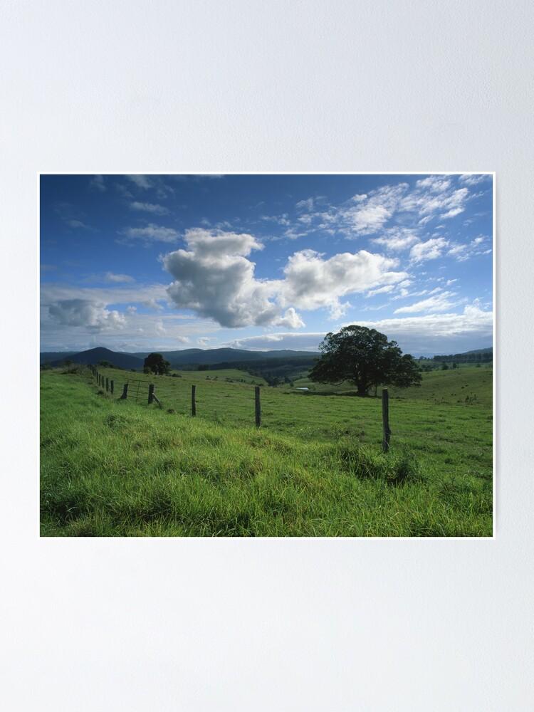 "Alternate view of ""Living the Dream"" ∞ Mount Barney, QLD - Australia Poster"