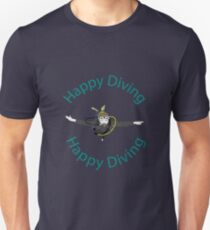 Happy Diving Unisex T-Shirt