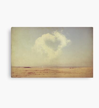 love is in the air... Canvas Print