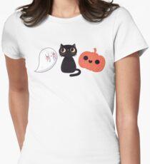 Camiseta entallada para mujer Escalofriante