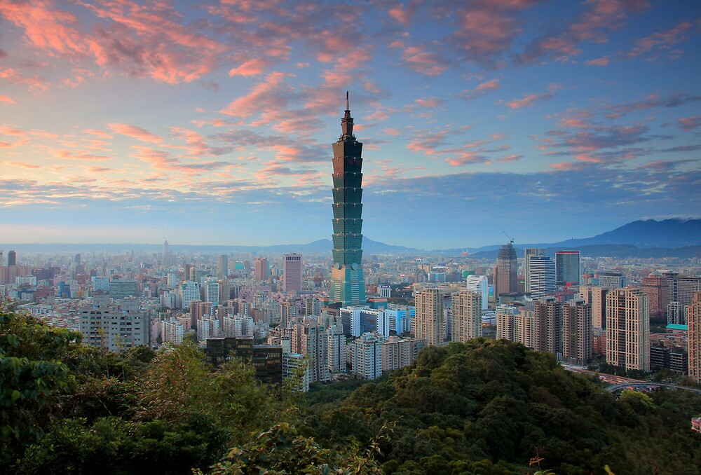 Taipei Sunset by Cameron B