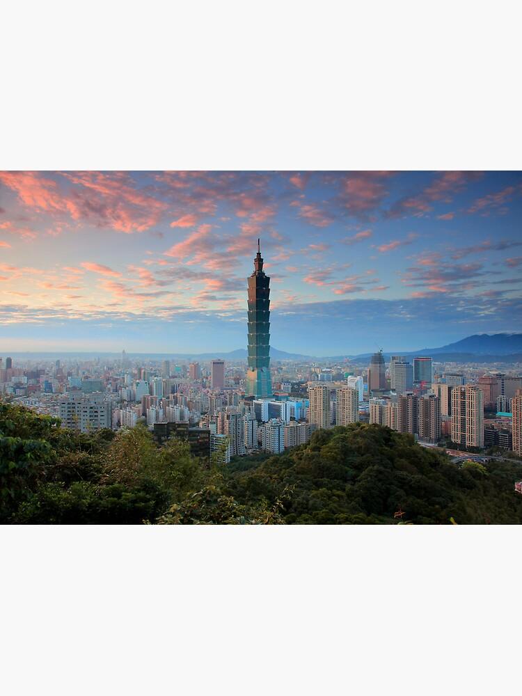 Taipei Sunset by AxionSteel