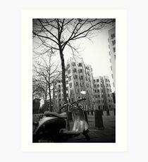 Gehry Buildings, Dusseldorf Art Print