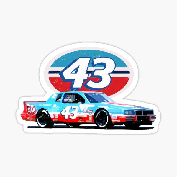 The King Richard Petty 43 Retro Racing  Sticker
