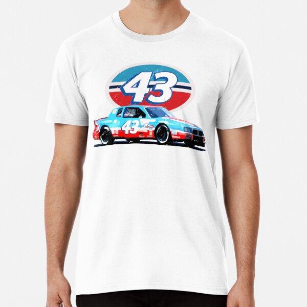 The King Richard Petty 43 Retro Racing  Premium T-Shirt