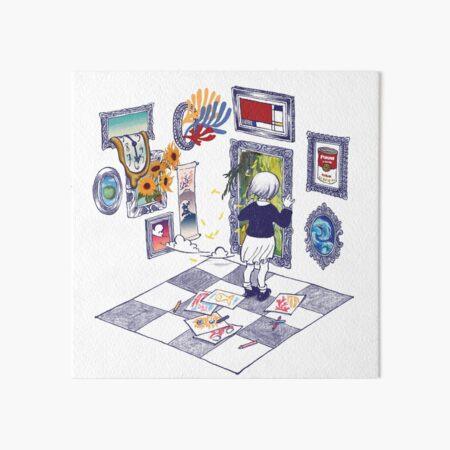 Portals Art Board Print