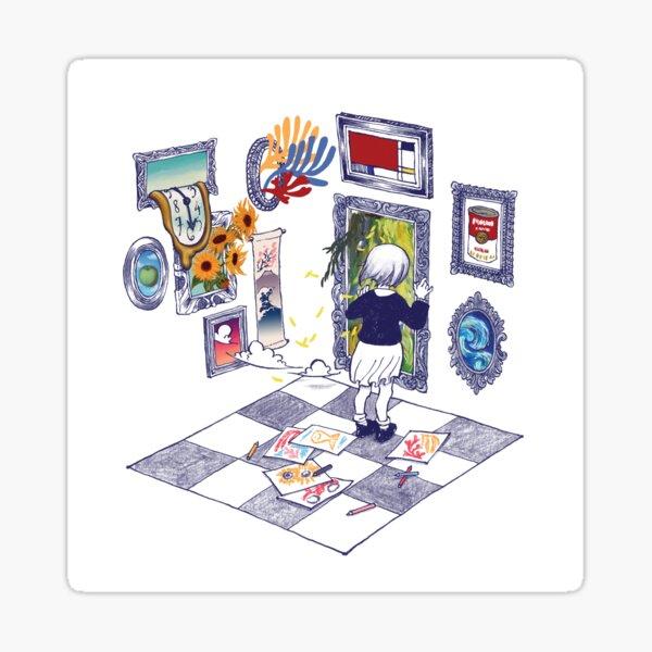 Portals Sticker