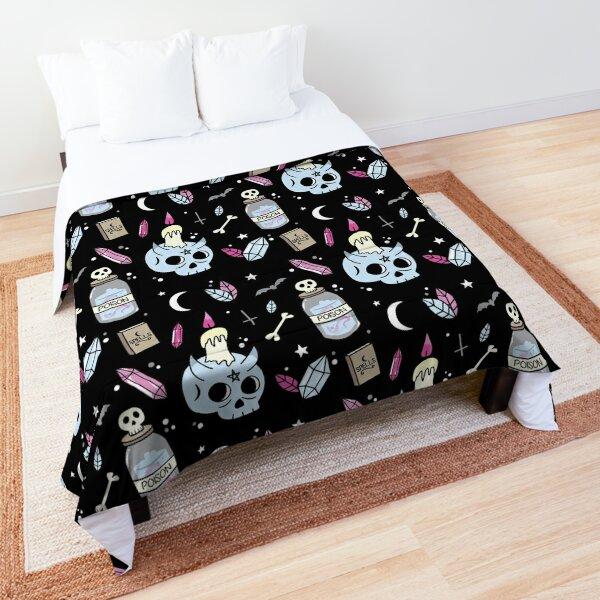 Devil's Skull Comforter