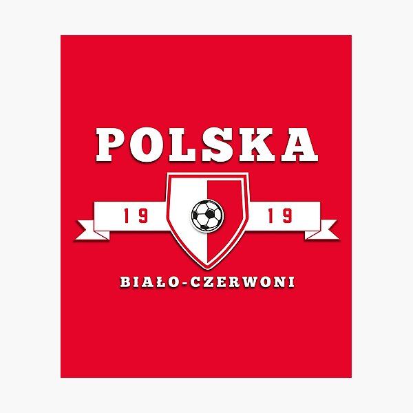 Poland Football Fans Photographic Print