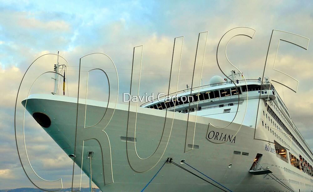 P&O Cruise ship Oriana, Civitavecchia, Italy by David Carton