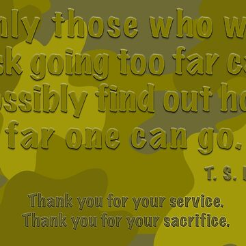 Thank you for your service and sacrifice  by LisaRent