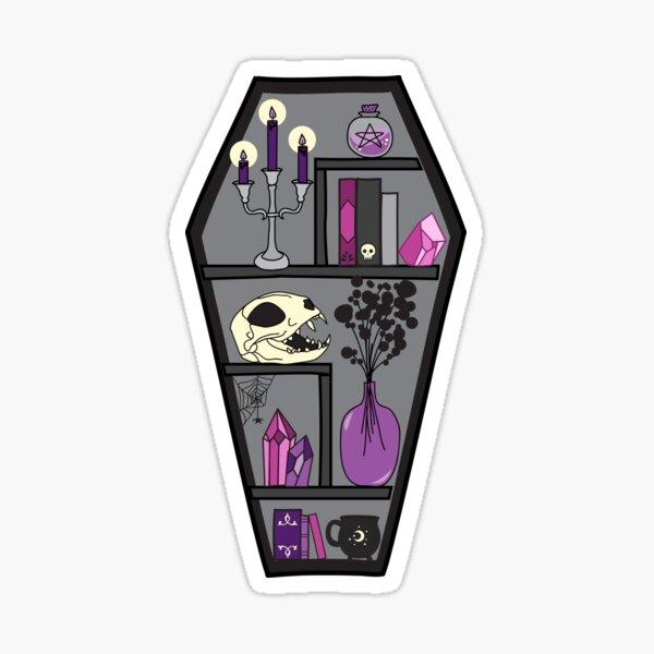 Small Coffin Case Sticker