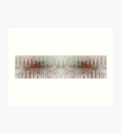 Oscillogram Art Print