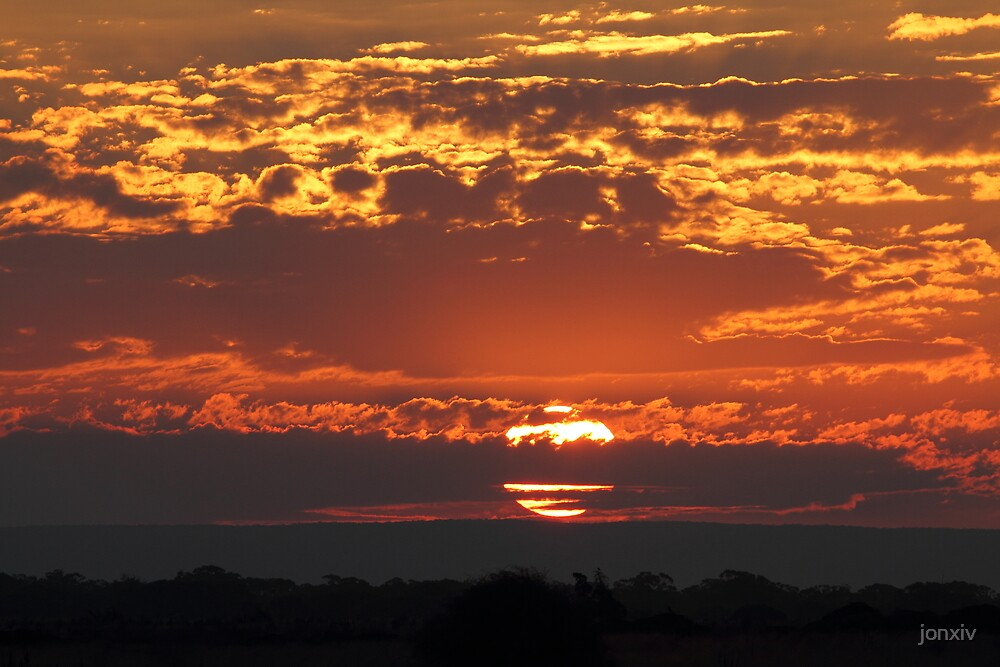 """Sunset at 3338"" by jonxiv"