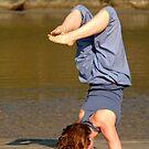 Yoga on Palolem Beach by SerenaB