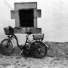 Parked Bicycle in a Corner by James2001