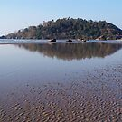 Across the Water to Monkey Island Palolem by SerenaB