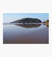Across the Water to Monkey Island Palolem Photographic Print