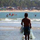 Fisherman Carrying Nets Palolem by SerenaB