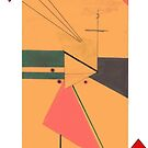 American Expressionism-3 of Diamonds by Peter Simpson