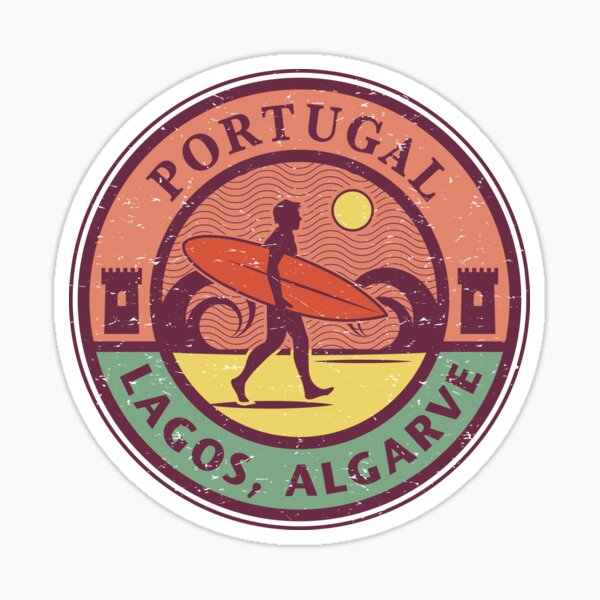 Lagos, Algarve, Portugal Sticker