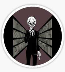 Silence In The Library Sticker