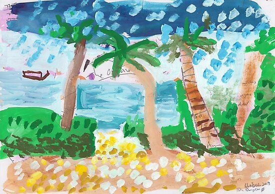 Dhoani on the Horizon by John Douglas