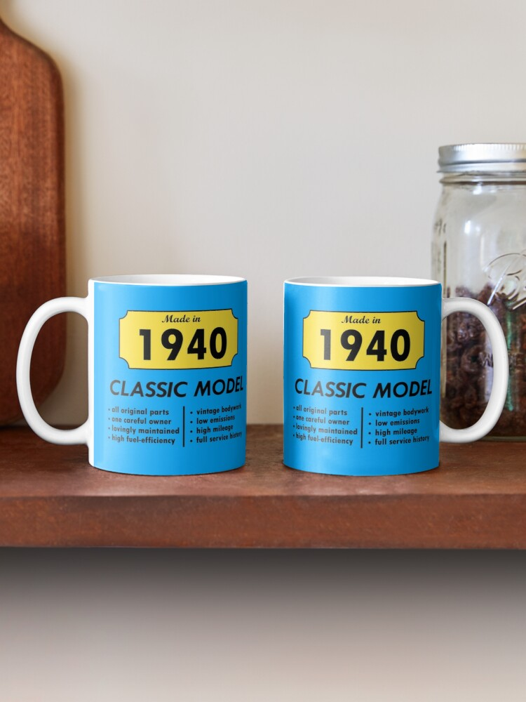 Alternate view of Made in 1940 Mug