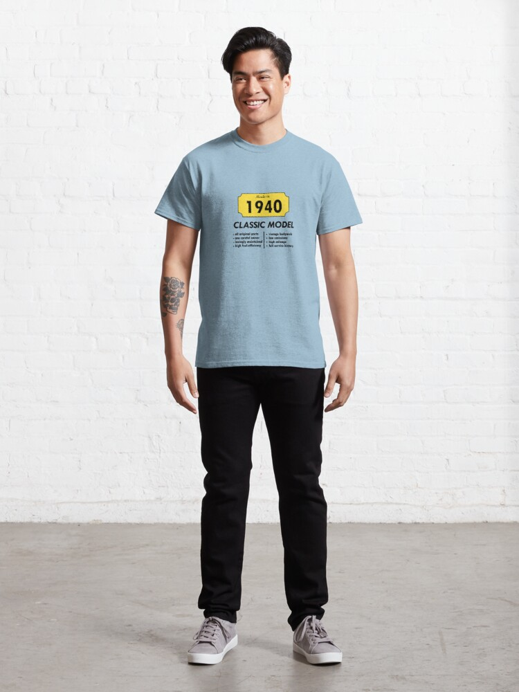 Alternate view of Made in 1940 Classic T-Shirt