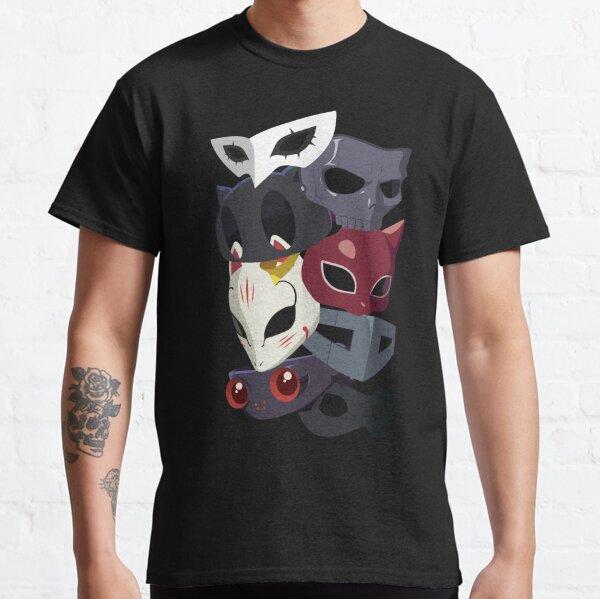 Ladrones Máscaras Camiseta clásica