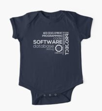 Programmer : Typography Programming One Piece - Short Sleeve