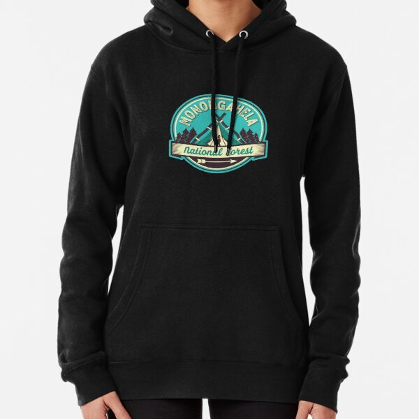 Monongahela National Forest shirt (FFF) Pullover Hoodie