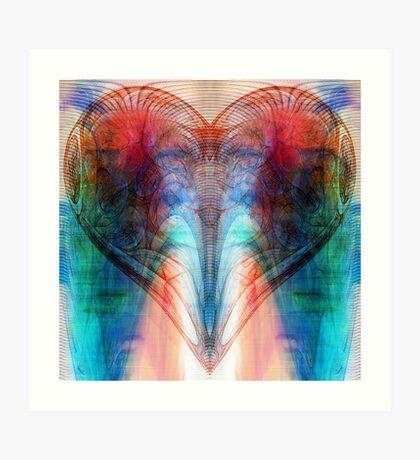 Heart (Variation) Art Print