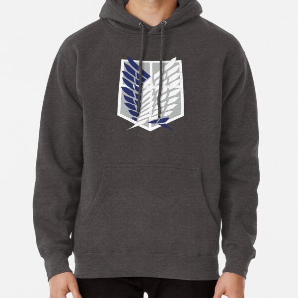 Attack on Titan: Wings Of Freedom Logo Pullover Hoodie
