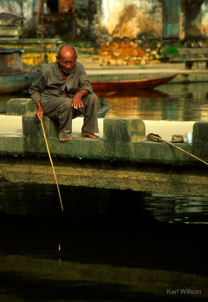 Hoi An Fisherman by Karl Willson
