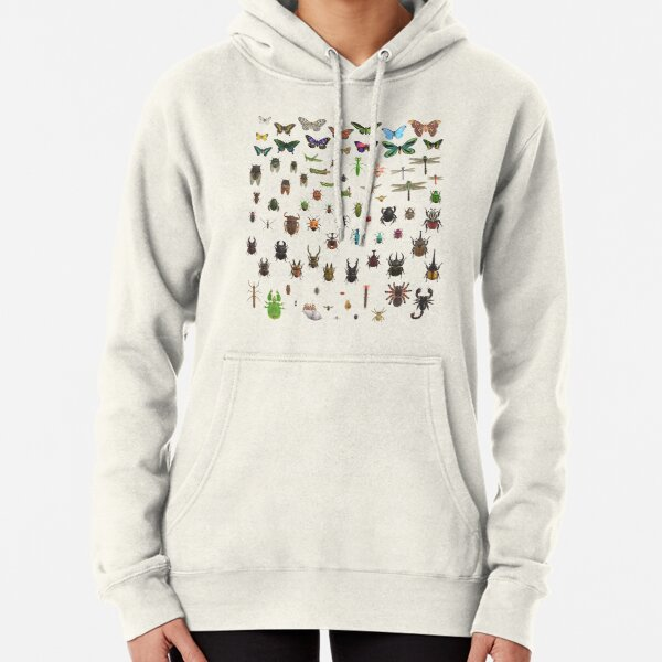 Animal Crossing New Horizons Critterpedia Insects Complete Taxonomy  Pullover Hoodie
