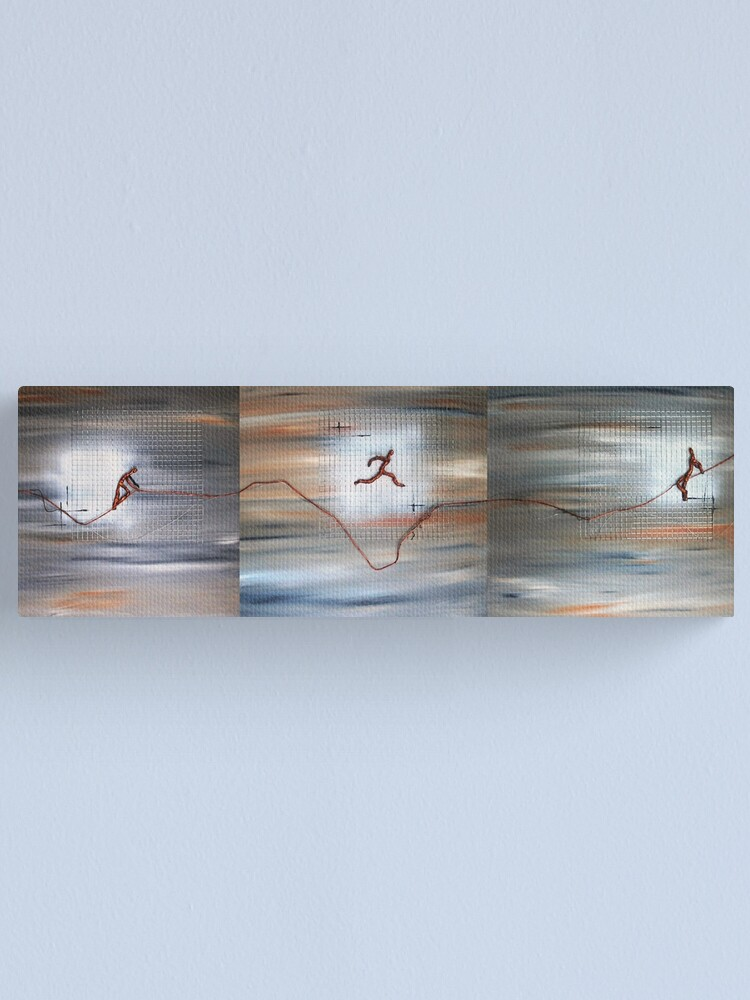 Alternate view of Jumping Jack II Canvas Print