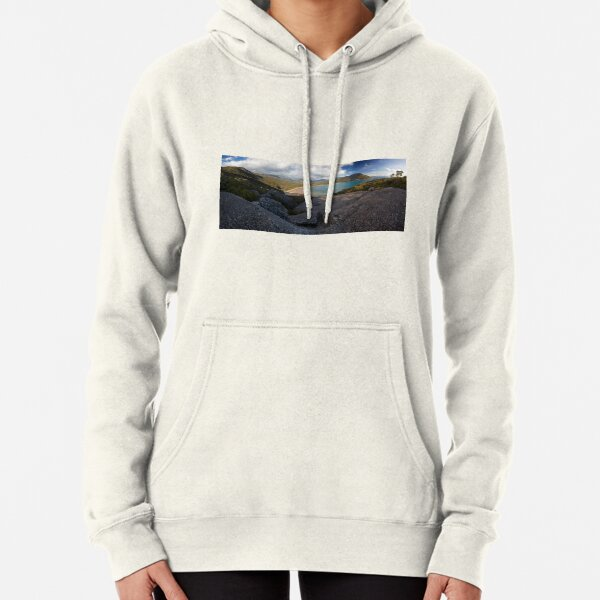 Sealers Cove from Lookout Rocks Pullover Hoodie